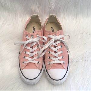Women's Pink Converse size 9.